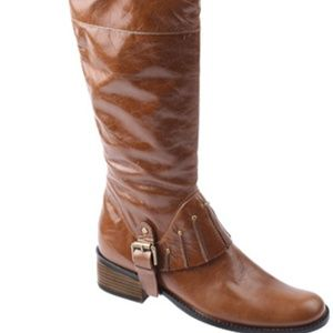 Authentic leather Jessica Benette boots